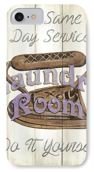 Vintage Laundry Room 1 IPhone Case