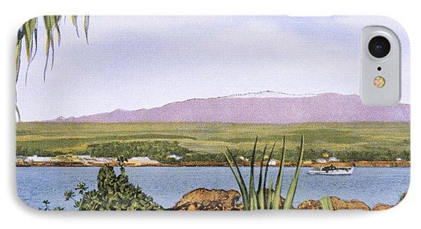 Vintage Mauna Kea Phone Case by Hawaiian Legacy Archive - Printscapes