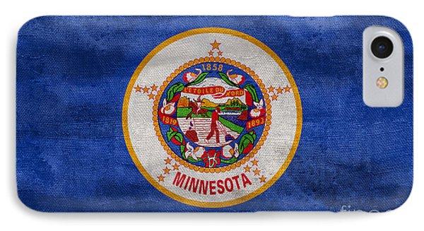 Vintage Minnesota Flag IPhone Case