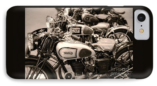 Vintage Motorcycles IPhone Case