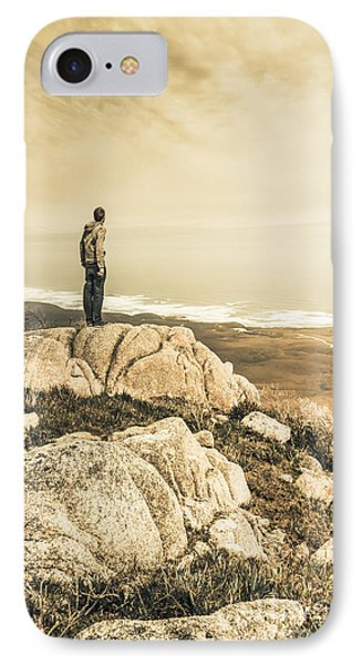 Vintage Mountain Dreamer IPhone Case by Jorgo Photography - Wall Art Gallery