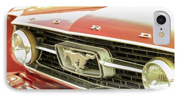 Vintage Mustang IPhone Case by Caitlyn Grasso