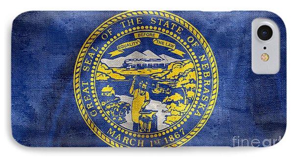 Vintage Nebraska Flag IPhone Case