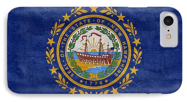 Vintage New Hampshire Flag IPhone Case