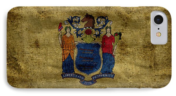 Vintage New Jersey Flag IPhone Case