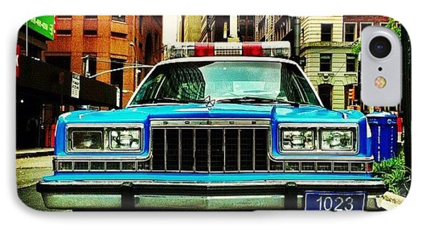 Vintage Nypd. #car #nypd #nyc IPhone Case