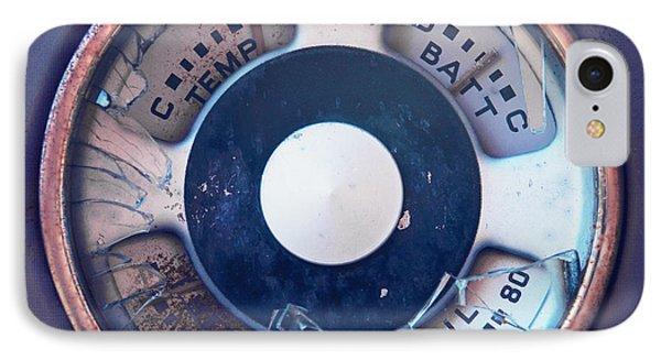 Vintage Oil Indicator Phone Case by Priska Wettstein