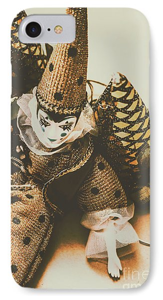 Vintage Party Puppet IPhone Case by Jorgo Photography - Wall Art Gallery