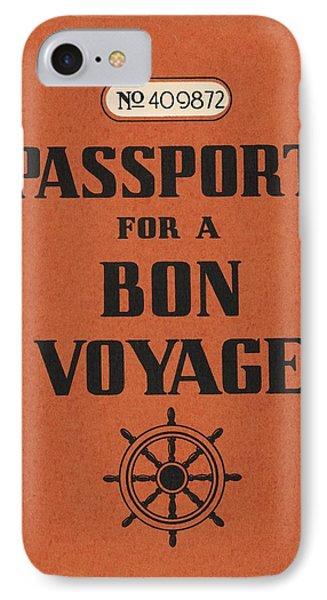 Vintage Passport IPhone Case by Gillham Studios
