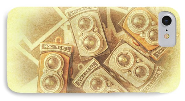 Vintage Photographer Film Art IPhone Case by Jorgo Photography - Wall Art Gallery