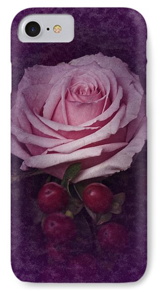 IPhone Case featuring the photograph Vintage Pink Rose Feb 2017 by Richard Cummings