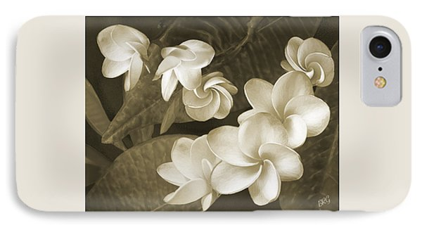 IPhone Case featuring the photograph Vintage Plumeria by Ben and Raisa Gertsberg