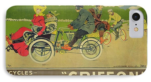 Vintage Poster Bicycle Advertisement IPhone 7 Case by Walter Thor