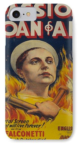 Vintage Poster - Joan Of Arc IPhone Case by Vintage Images