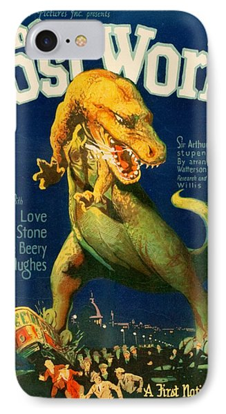 Vintage Poster - The Lost World IPhone Case by Vintage Images