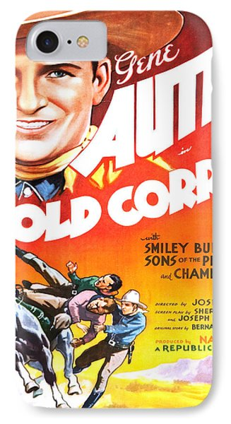 Vintage Poster - The Old Corral IPhone Case by Vintage Images