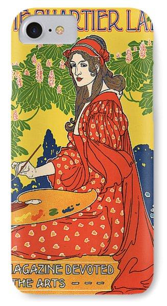 Vintage Poster - The Quartier Latin IPhone Case by Vintage Images