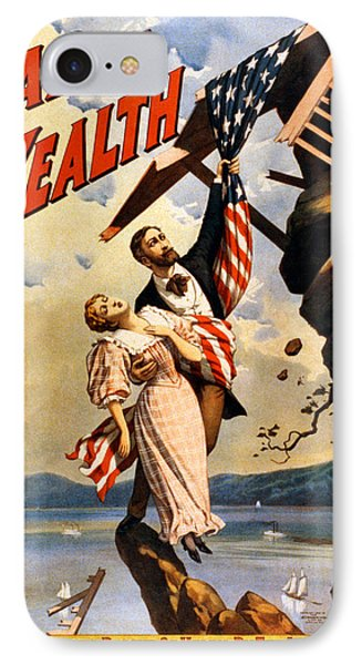 Vintage Poster - The War Of Wealth IPhone Case by Vintage Images