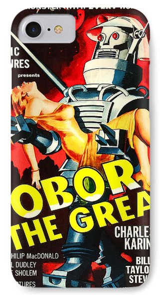 Vintage Poster - Tobor The Great IPhone Case by Vintage Images