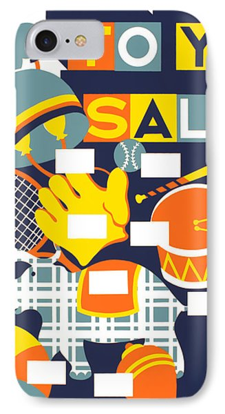 Vintage Poster - Toy Sale IPhone Case by Vintage Images
