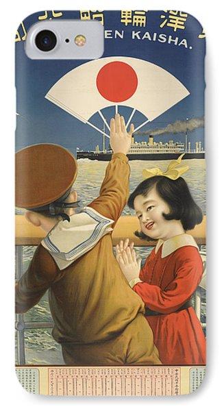 Vintage Poster - Toyo Kisen Kaisha IPhone Case by Vintage Images