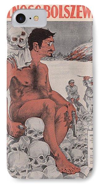 Vintage Poster - Wolnosc Bolszewicka IPhone Case by Vintage Images
