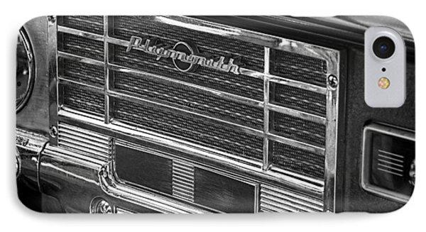 Vintage Radio B And W IPhone Case