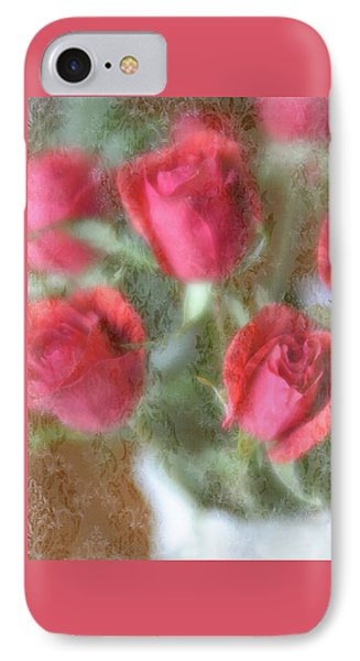 IPhone Case featuring the photograph Vintage Rose Bouquet by Diane Alexander
