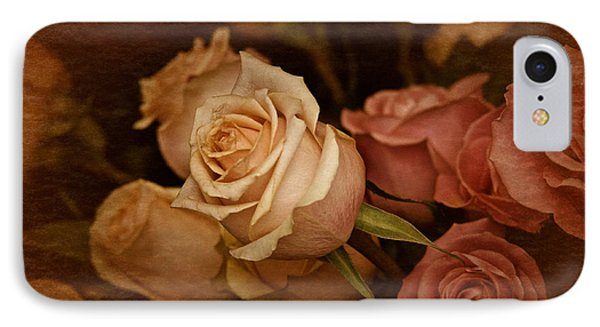 Vintage Roses March 2017 IPhone Case by Richard Cummings
