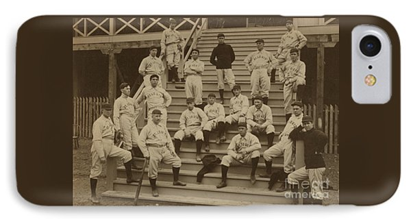 Vintage Saint Louis Baseball Team Photo IPhone Case by American School