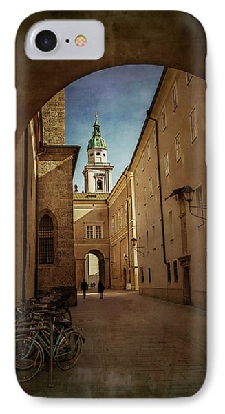 IPhone Case featuring the photograph Vintage Salzburg by Carol Japp