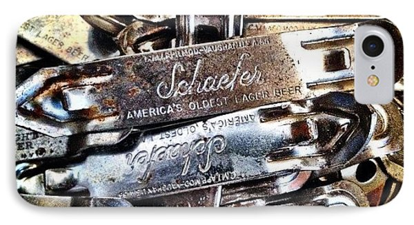Vintage Schaefer IPhone Case by Natasha Marco