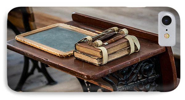 Vintage School Desk IPhone Case by Paul Freidlund