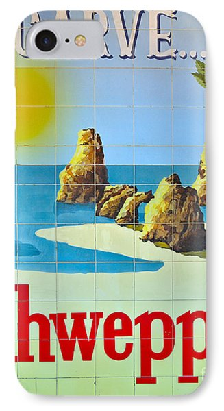 Vintage Schweppes Algarve Mosaic IPhone Case by Angelo DeVal