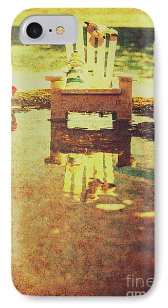 Vintage Seaside Vacationing IPhone Case by Jorgo Photography - Wall Art Gallery
