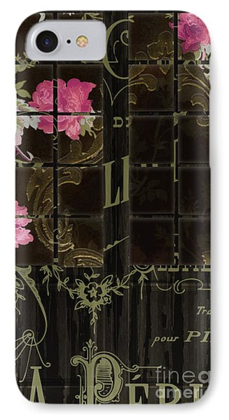 Vintage Shabby French Door IPhone Case by Mindy Sommers