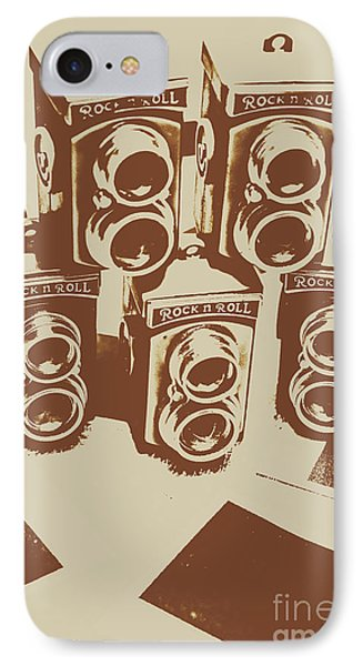 Vintage Snapshots And Old Cameras IPhone Case by Jorgo Photography - Wall Art Gallery