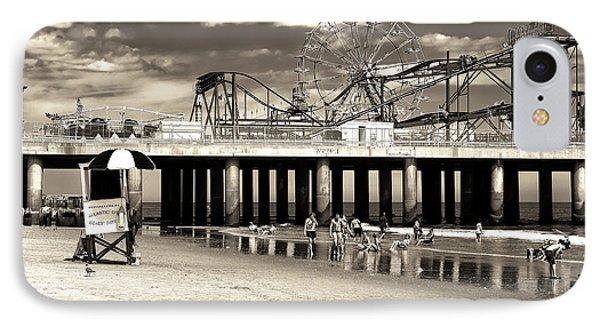 Vintage Steel Pier IPhone Case