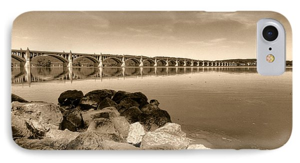 Vintage Susquehanna River Bridge IPhone Case