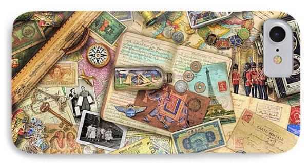 Vintage Travel IPhone Case by Aimee Stewart