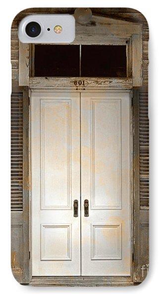Vintage Tropical Weathered Key West Florida Doorway IPhone Case by John Stephens