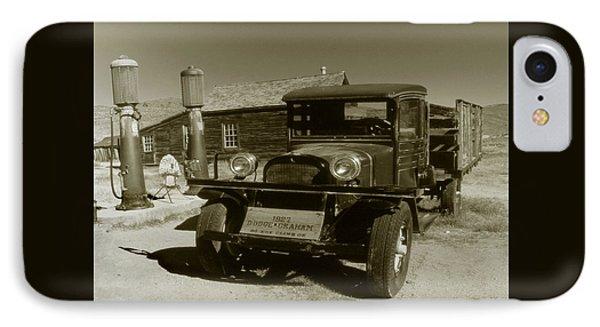 Old Truck 1927 - Vintage Photo Art Print IPhone Case