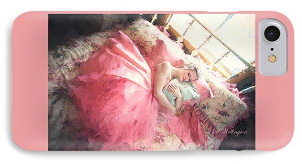 Vintage Val Bedroom Dreams IPhone Case