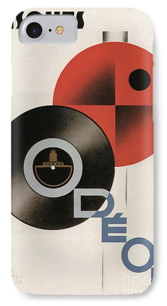 Vintage Vinyl Records Art Deco IPhone Case by Mindy Sommers