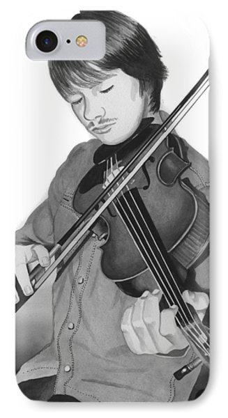 IPhone Case featuring the painting Viola Master by Ferrel Cordle