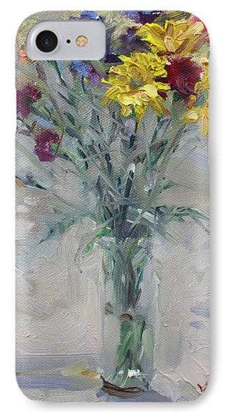 Viola's Flowers IPhone Case by Ylli Haruni