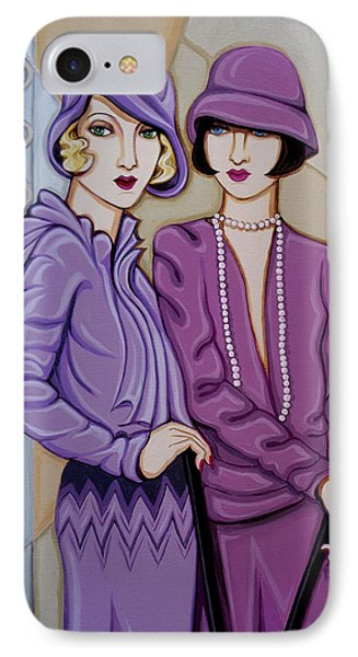 Violet And Rose IPhone Case by Tara Hutton