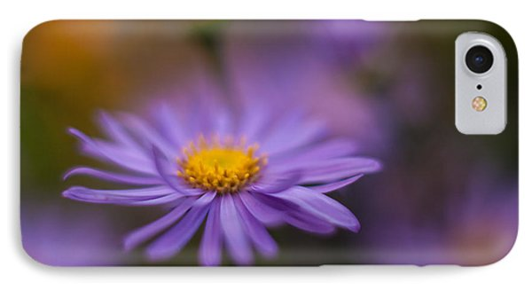 Violet Daisy Dreams IPhone Case by Mike Reid