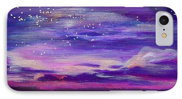 Violet Evening IPhone Case