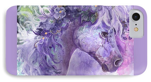 Violet Fantasy Phone Case by Sherry Shipley
